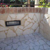 muro esterno in pietra
