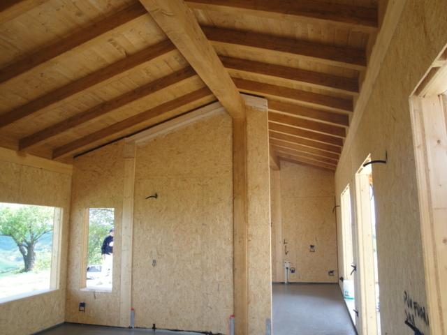 Case In Legno Interni : Interni casa legno andrea bertuzzo