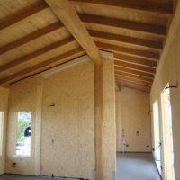 interni casa legno