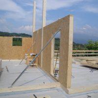 montaggio casa a telaio