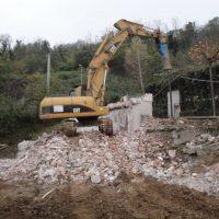demolizione fabbricato